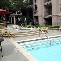 Photo taken at Villas At Montfort Pool #1 by Jodi D. on 5/6/2012