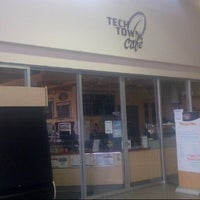 Photo taken at TechTown Cafe by Mayer T. on 6/28/2012