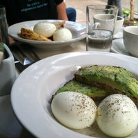 Photo taken at Iris Cafe by Brian N. on 9/8/2012