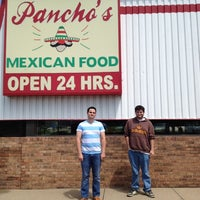 Photo taken at Pancho's Mexican Restaurant by Amanda D. on 5/1/2012