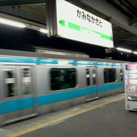 Photo taken at Kami-Nakazato Station by Tommy M. on 4/10/2012