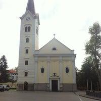 Photo taken at Katedrala Uzvišenja Sv. Križa by Vedran B. on 5/3/2012