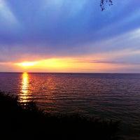 Photo taken at Lakeview Beach by Daniel U. on 8/13/2012