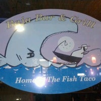 Photo taken at Baja Bar & Grill by Kristy F. on 5/11/2012