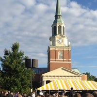 Photo taken at Wake Forest University by Meredith L. on 5/21/2012