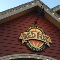 Photo taken at Red Fox Bar and Grille by Paul N. on 8/30/2012