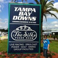 Photo taken at Tampa Bay Downs by Waylon C. on 3/10/2012