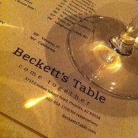Photo taken at Beckett's Table by J.E. P. on 2/23/2012