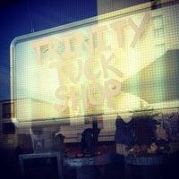 Photo taken at Trinity Tuck Shop by Matt S. on 7/5/2012