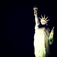 Photo taken at Statue of Liberty by Mayra R. on 9/2/2012