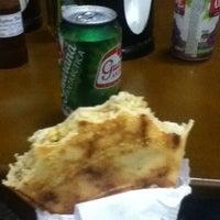 Photo taken at Mistura Fina Pizzas e Crepes by Júlia B. on 3/22/2012