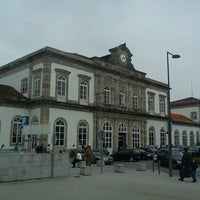 Photo taken at Estação Ferroviária de Porto-Campanhã by Miguel A. on 5/11/2012