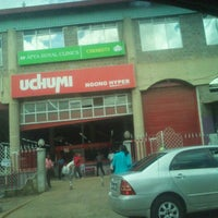 Photo taken at Uchumi Ngong Hyper by Kenneth R. on 5/11/2012