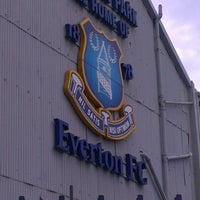 Photo taken at Goodison Park by David H. on 4/28/2012