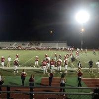 Photo taken at Veterans Memorial Stadium by Marshall W. on 9/2/2012