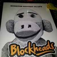 Photo taken at Blockheads Burritos by Lito G. on 4/5/2012