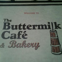 Photo taken at Buttermilk Cafe And Bakery by Robert N. on 5/13/2012