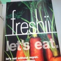 Photo taken at Freshii by Tim P. on 6/19/2012