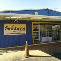 Photo taken at Sunbrite Auto Works, Inc. by Dan on 3/5/2012