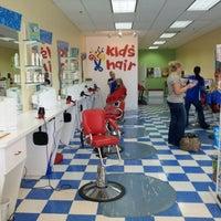 Photo taken at Kids Hair by Chris S. on 8/26/2012