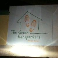 Photo taken at Green Backpackers by Ira M. on 7/10/2012