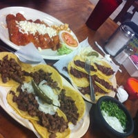 Photo taken at Tacos Del Julio by andres g. on 4/14/2012