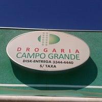 Photo taken at Drogaria Campo Grande by Thiago F. on 8/22/2012
