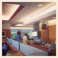 Photo taken at Japan Airlines Sakura Lounge by Takahiro Y. on 6/14/2012