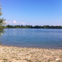 Photo taken at Baggersee Kork by Philip F. on 8/10/2012