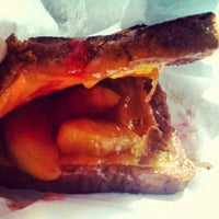 Photo taken at Gorilla Cheese Truck NYC by Chelle . on 4/2/2012