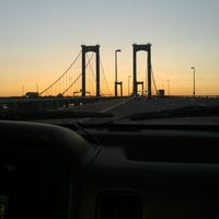 Photo taken at Delaware Memorial Bridge by Amanda F. on 8/18/2012