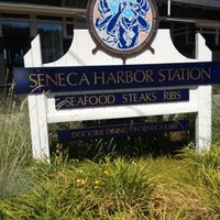 Photo taken at Seneca Harbor Station by Michelle on 7/1/2012
