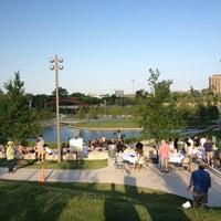 Photo taken at Vitruvian Park by Randy W. on 6/15/2012