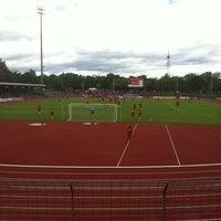Photo taken at Südstadion by Jan B. on 8/25/2012