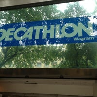 Photo taken at Decathlon by Tony M. on 5/10/2012