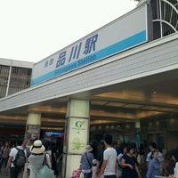 Photo taken at Keikyu Shinagawa Station (KK01) by Kazushige O. on 8/10/2012