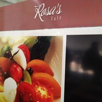 Photo taken at Rosa's Café by Antonio Carlos R. on 8/8/2012