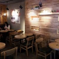 Photo taken at Mr. Breeze Coffee by Damian K. on 6/17/2012