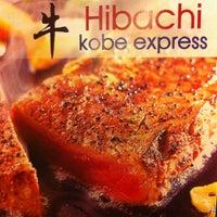 Photo taken at Hibachi Kobe Express by VegasWorldInc on 8/25/2012