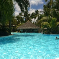 Photo taken at Meliá Caribe Tropical All Inclusive Hotel by Татьяна Т. on 4/24/2012