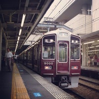 Photo taken at Nishinomiya-kitaguchi Station (HK08) by Keisuke K. on 6/11/2012