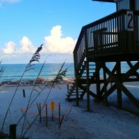 Photo taken at Coquina Beach by Chris on 7/29/2012