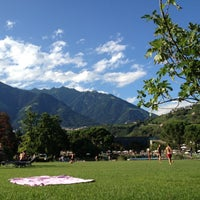 Photo taken at Therme Meran / Terme di Merano by Mauro on 8/7/2012