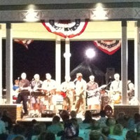 Photo taken at Rehoboth Beach Bandstand by Gar G. on 7/5/2012