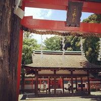 Photo taken at 吉田神社 by mashori on 7/22/2012