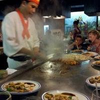 Photo taken at Fujiyama Steak House of Japan by Chris M. on 6/29/2012