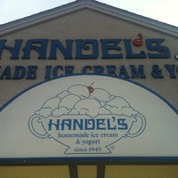 Photo taken at Handel's Homemade Ice Cream & Yogurt by Krista S. on 6/11/2012