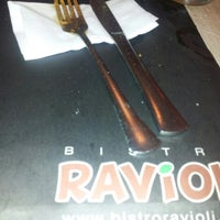 Photo taken at Bistro Ravioli by Raffy P. on 8/18/2012