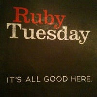 Photo taken at Ruby Tuesday by Katie P. on 4/26/2012
