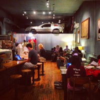 Photo taken at The Wormhole Coffee by Tenko N. on 8/12/2012